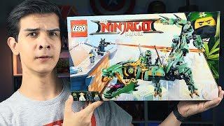 LEGO Ниндзяго Фильм - ДРАКОН ЛЛОЙДА - Набор На Обзор (70612)