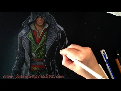 """Drawing Jacob Frye from Assassin's Creed """"Syndicate"""""""