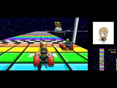 Mario Kart 7: Online Races with Rosalina [HD]