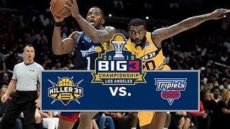 BIG3 Championship | Killer 3s vs Triplets | Full Game Cutdown
