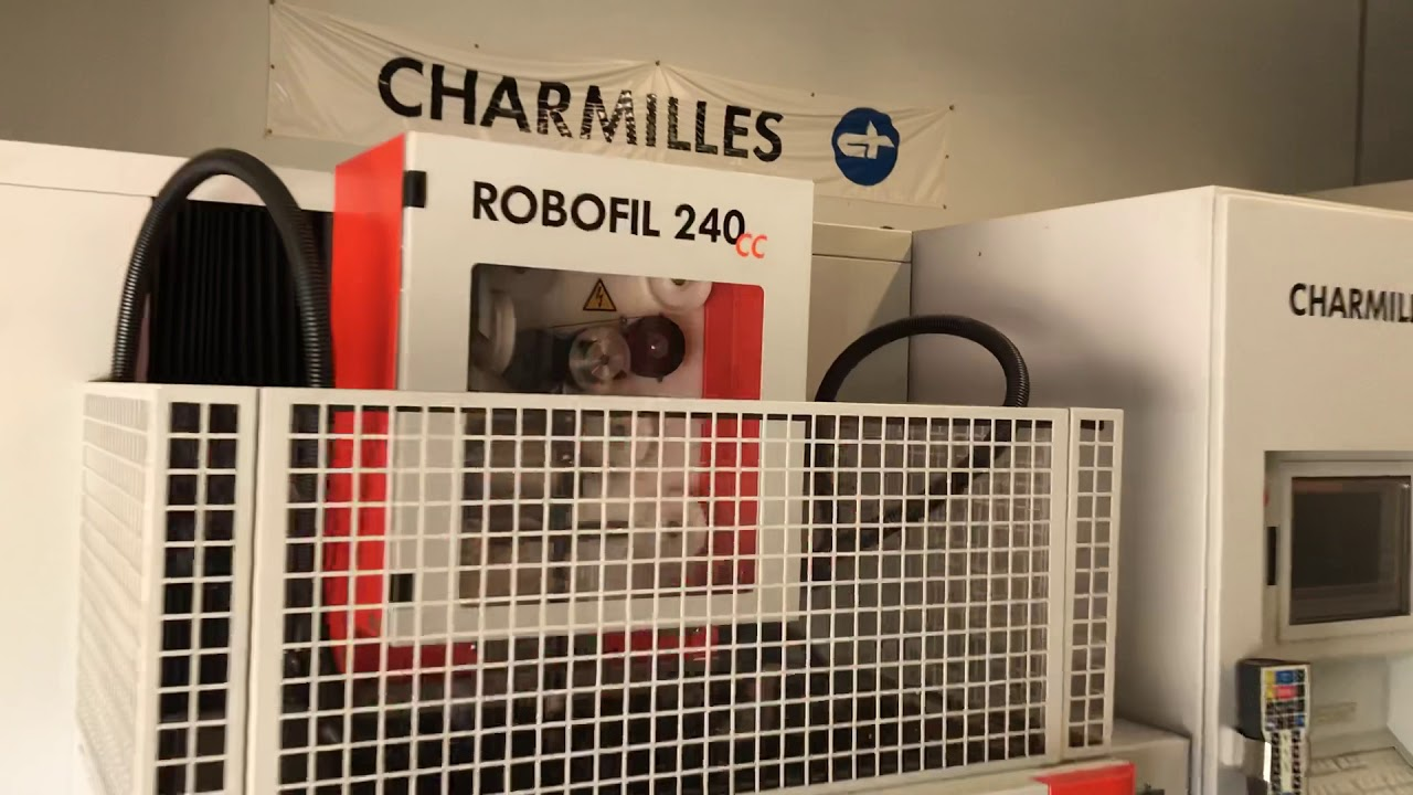 Edm Wire Machine For Sale | For Sale 2004 Charmilles Robofil 240cc Wire Edm Peak Machine