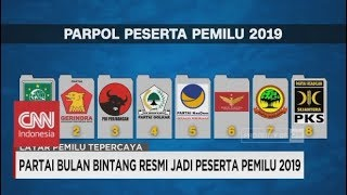 Download Video Ditambah PBB, Inilah Parpol Peserta Pemilu 2019 MP3 3GP MP4