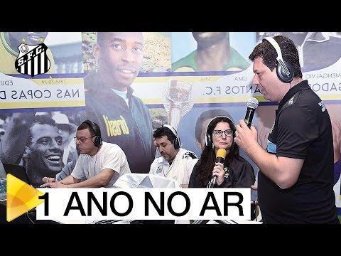 Rádio Santos FC completa 1 ano de atividade