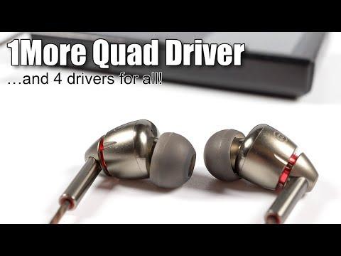 Review of 1More Quad Driver IEMs