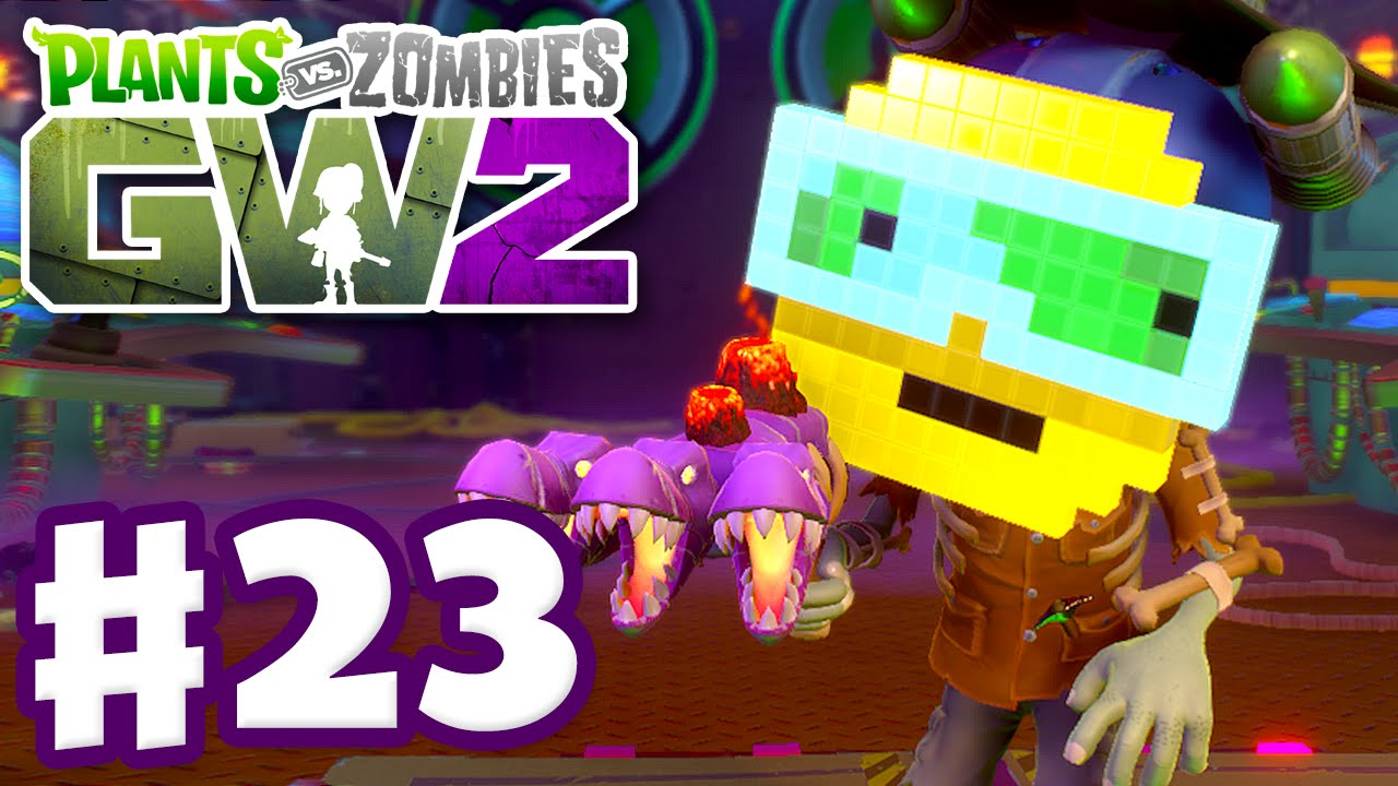 Plants Vs Zombies Garden Warfare 2 Gameplay Part 23 Graveyard Ops Pc Youtube