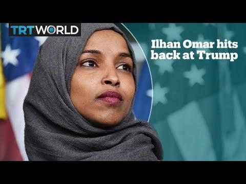 Ilhan Omar hits back at Trump over 9/11 tweet attack