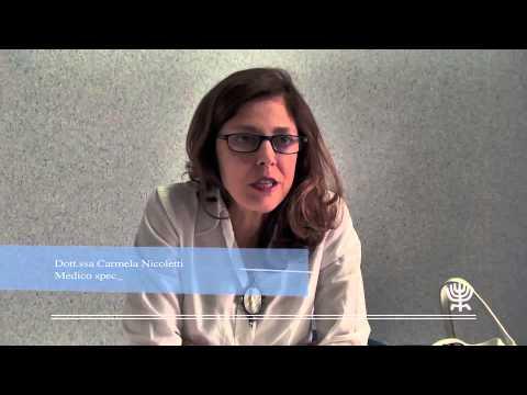 Ospedale Israelitico Di Roma: Video Intervista Alla Dott.ssa Maria Carmela Nicoletti