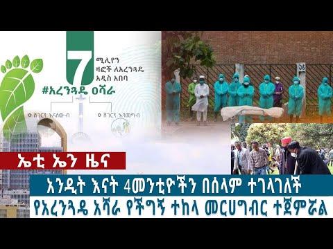 Ethiopian: አንዲት እናት 4 መንቲዬችን ተገላገለች