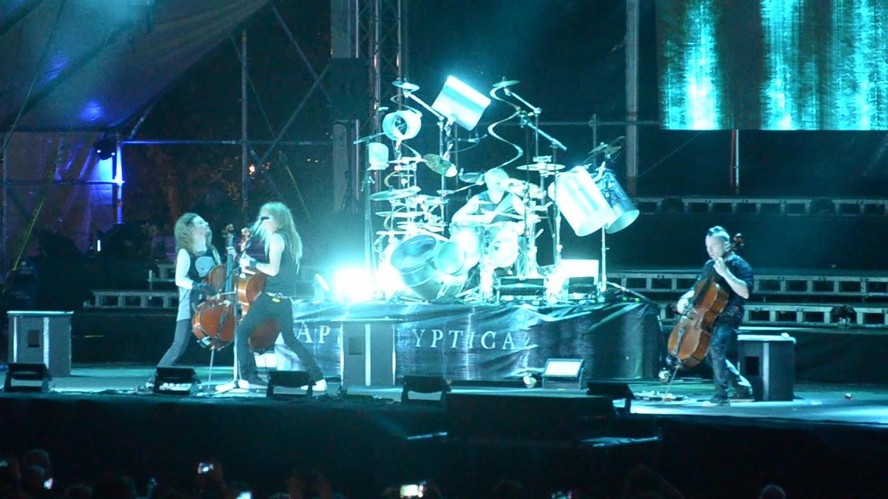 Αποτέλεσμα εικόνας για apocalyptica live