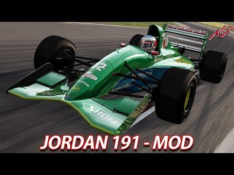 Jordan 191 - Mod | Assetto Corsa [HD] [GER] Spa Francorchamps