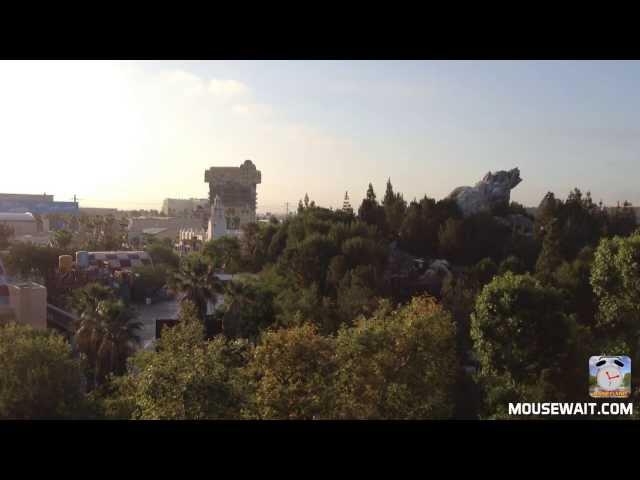 Disneyland: California Adventure Ambiance HD Video - Condor Flats