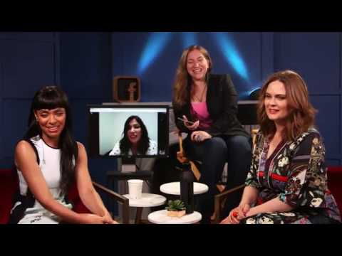 Emily Deschanel, Michaela Conlin & Tamara Taylor on Facebook LIVE | #BonesFinale