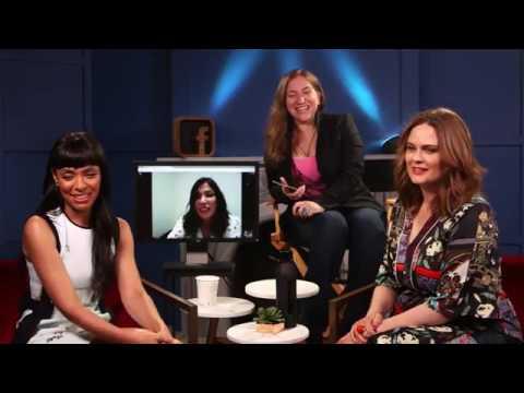 Emily Deschanel, Michaela Conlin & Tamara Taylor on Facebook LIVE  BonesFinale