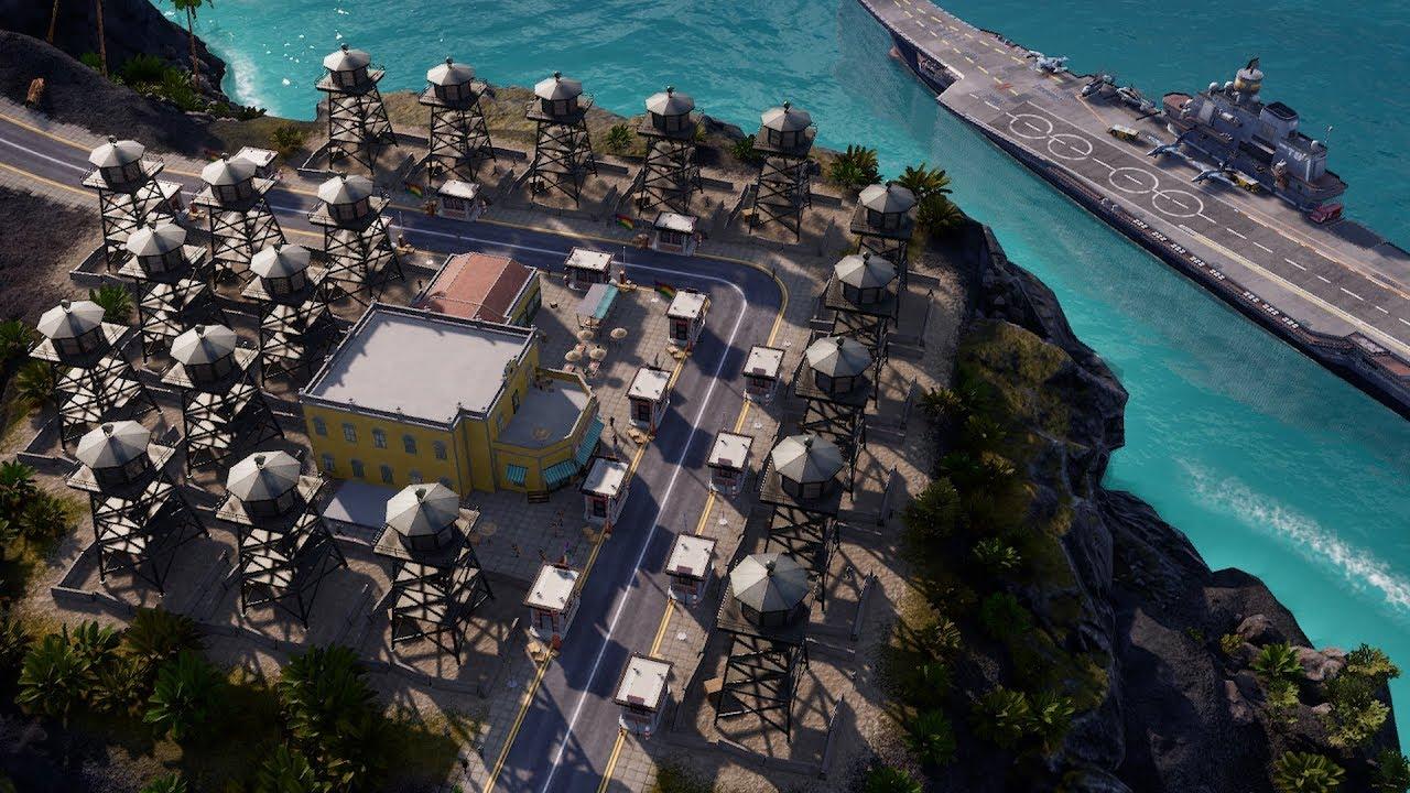 I was sponsored to brutally suppress revolution in Tropico 6