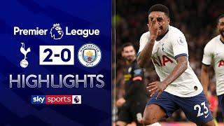 Bergwijn STUNNER on debut helps Spurs beat 10-man City | Tottenham 2-0 Man City | EPL Highlights