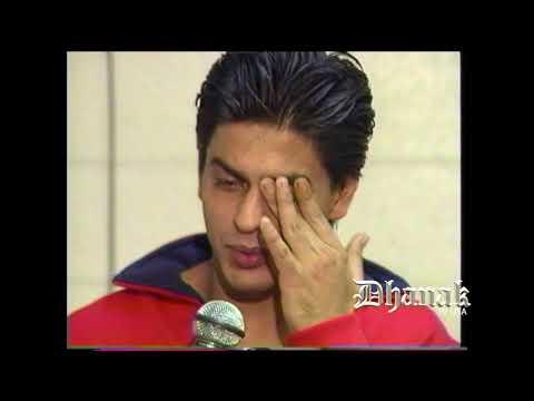 Shahrukh Khan & Juhi Chawla Exclusive footage (Dhanak TV USA)