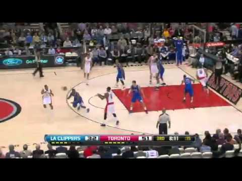 Los Angeles Clippers vs Toronto Raptors 2013 Full Highlights