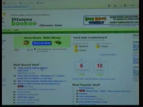 Bookoo makes searching for yard sales easy