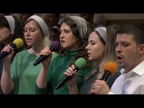 Пісня Встаньне всі народи. First Ukrainian Baptist Church Of Seattle