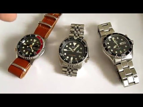 Seiko SKX vs Citizen Promaster vs Orient Ray - 3 Best Dive Watches Under 200 $