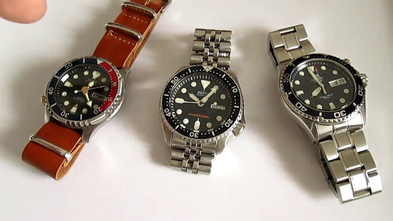 Seiko Skx Vs Citizen Promaster Vs Orient Ray 3 Best Dive Watches