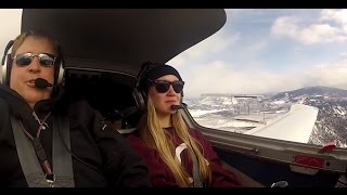 US Vail Valley Flight Lesson (1min review)