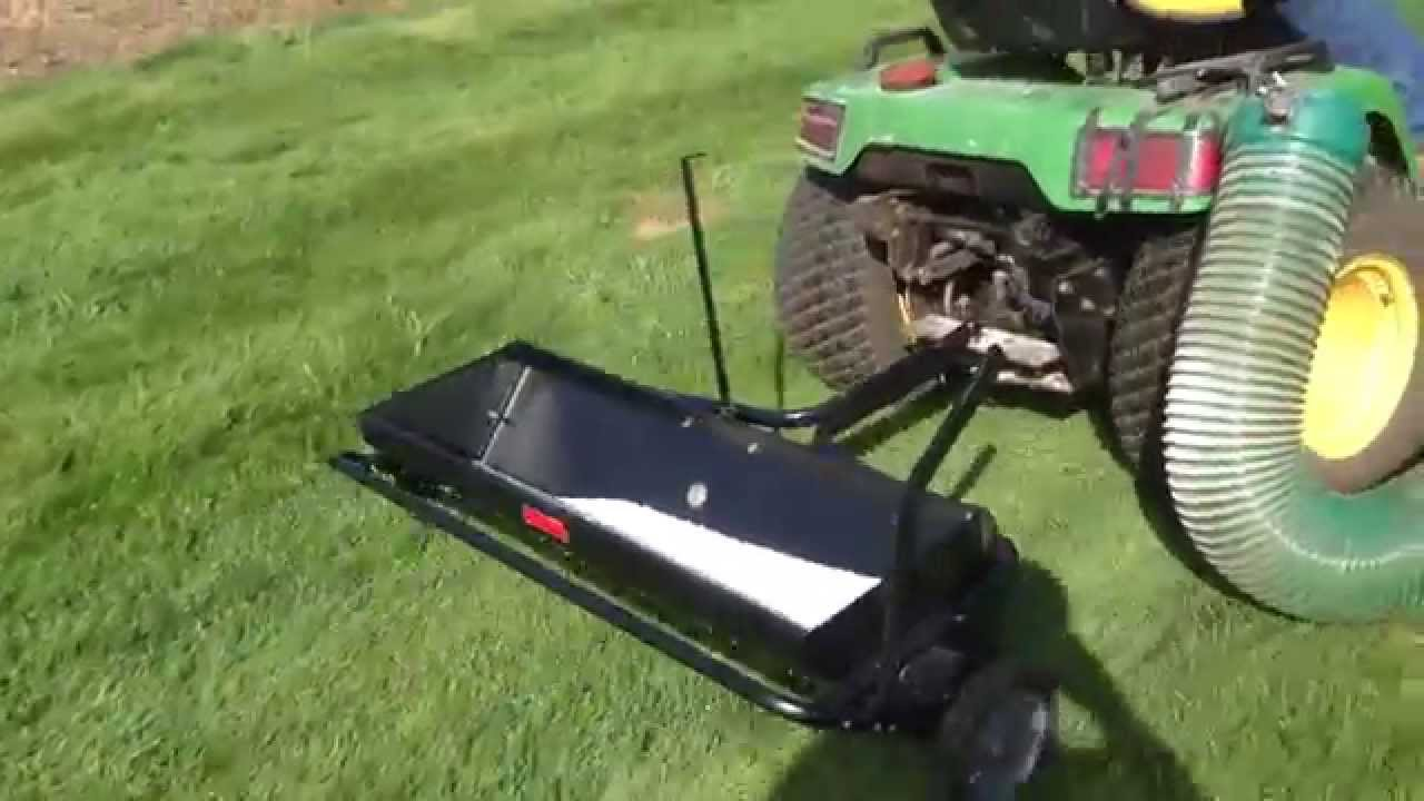 Review Brinly Aerator Spreader From