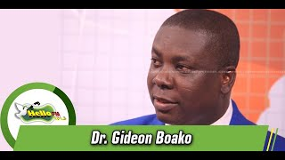 No Additional Tax To Be Added In New Budget - Dr. Gideon Boako