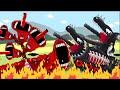 SIREN HEAD VENOM Tank Vs SUPER BLACK VENOM  Tank  Part 2 - Tank Animation