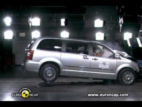 all new lancia voyager 2012 crash test - youtube