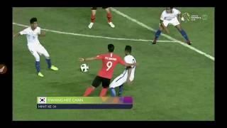 Malaysia vs Korea Selatan 17.8.18 Sukan Asia Jakarta Palembang 2018