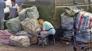 Вещевые Рынки 90 х Перестройка СССР