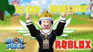 ROBLOX – ACTUALIZAR 2 NUEVO CÓDIGO X2 experiencia 30 MINUTOS Y RESET STAT-(CODE) Blox Piece