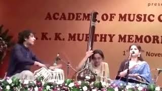 kaushiki Chakraborty performing live in Bangalore 2017