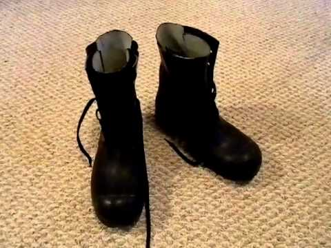 budget military surplus shtf prep - mickey mouse boots!