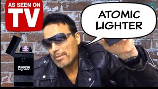 Electronic USB Lighter   As Seen On TV   Atomic Lighter Unboxing