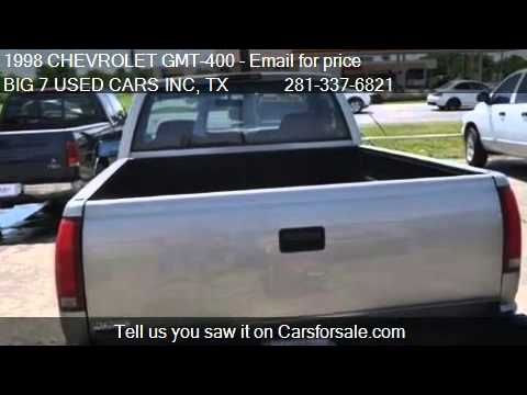 1998 CHEVROLET GMT-400 C1500 for sale in Dickinson, TX 77539