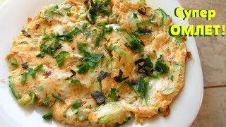 Попробуйте омлет со свежими огурцами, очень нежный и вкусный.