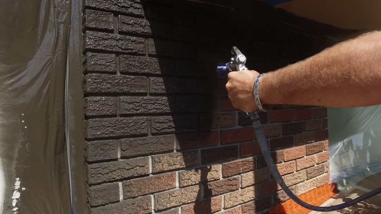 Spray Painting A House Transformation By Spray Net Youtube