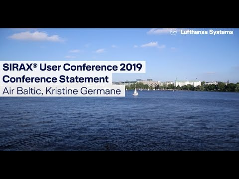 SIRAX® Customer Statement 2019 Air Baltic / Lufthansa Systems