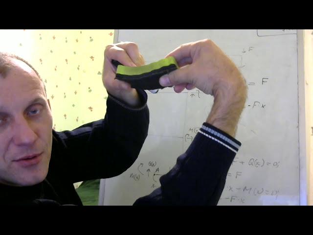 Эпюры M и Q как построить, Сопромат