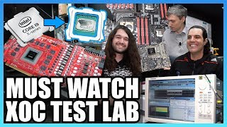 KINGPIN Overclocking Lab Tour & Secret EVGA Products