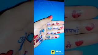 ||Finger Beautiful Status|| by B4U Live