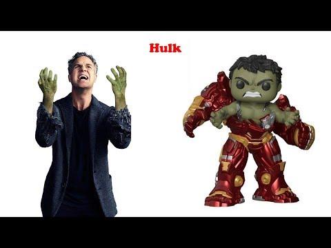 Funko POP Marvel Series  POP Funko Vs Comics Movies etc