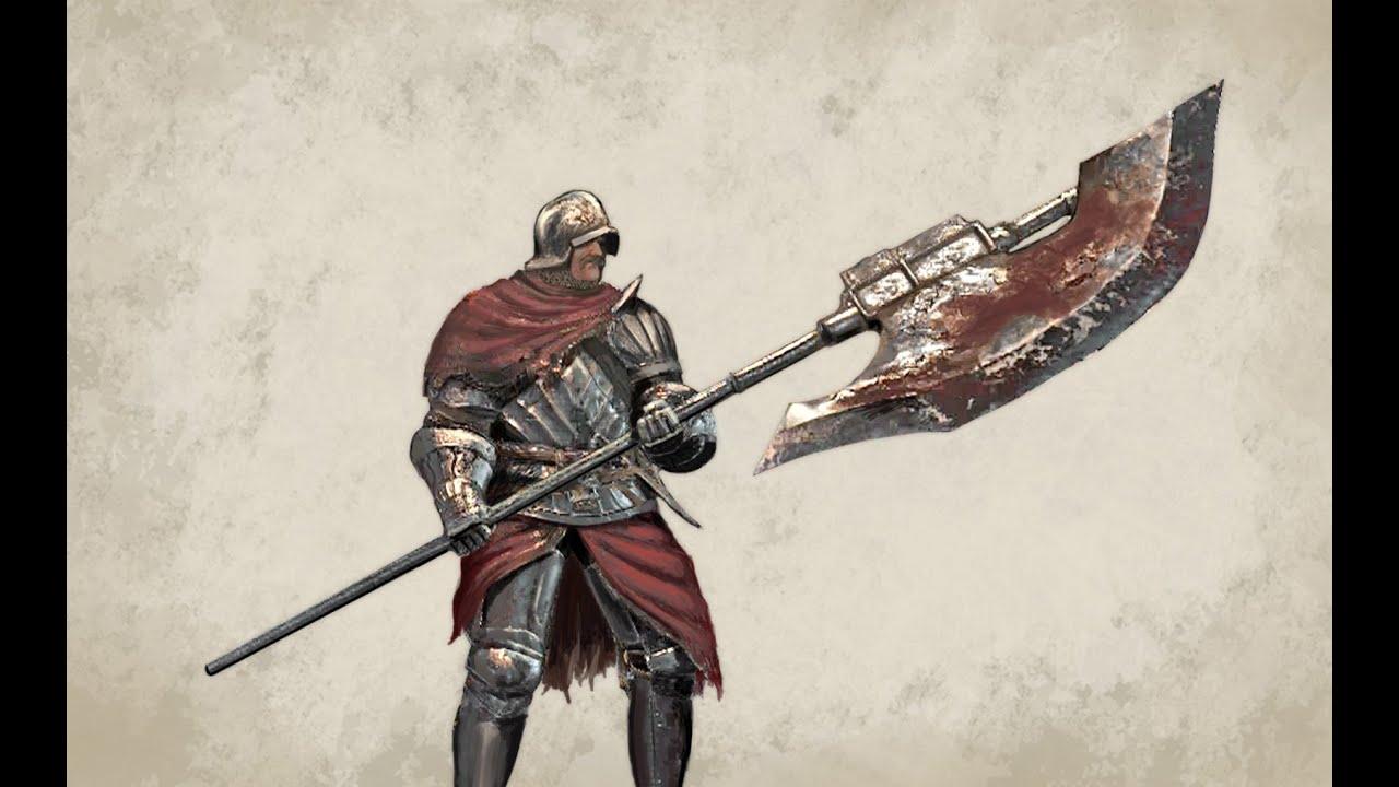 Dark Souls 3 Pvp Winged Knight Halberd Youtube