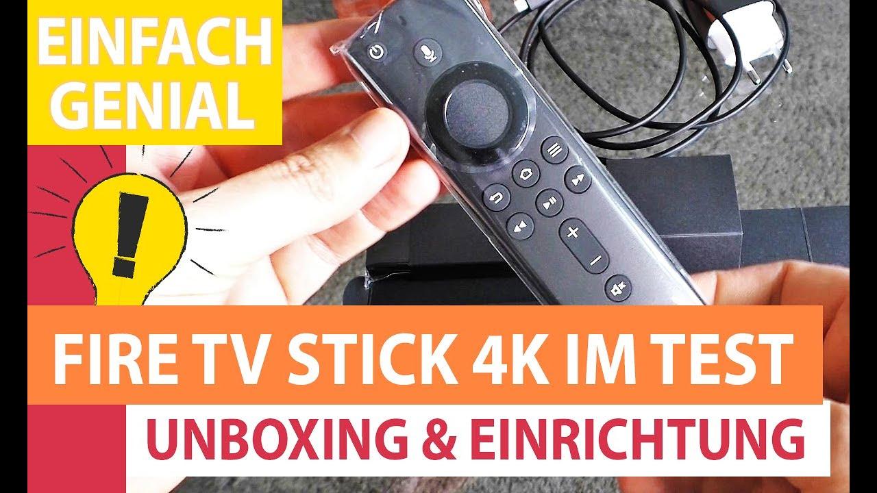 Amazon Fire TV Stick 9K Test: Unboxing, Installieren und Einrichten