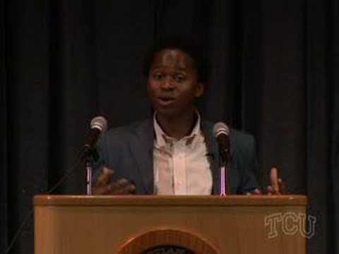 Ishmael Beah Speaks at TCU