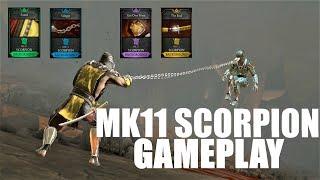 Mk11 Scorpion action in faction gameplay   Mk11 Scorpion in mortal kombat mobile   Mk11 Scorpion