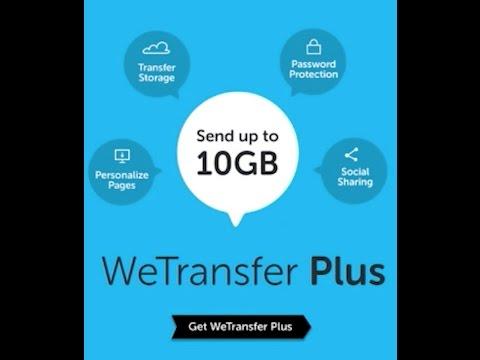 Sending And Recieving Files Using We Transfer