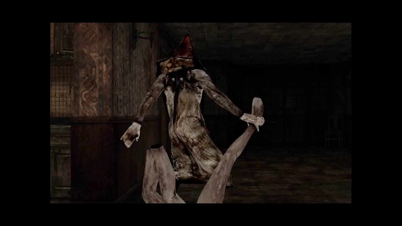 silent hill game pyramid head scene
